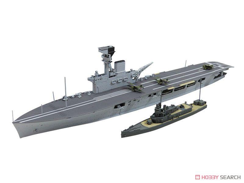 限定 英国海軍航空母艦 HMSハーミーズ リシュリュー攻撃時 (プラモデル)