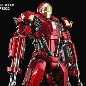 キングアーツ 1/9 ダイキャスト フィギュア シリーズ アイアンマン3 アイアンマン マーク35 レッドスナッパー (完成品)