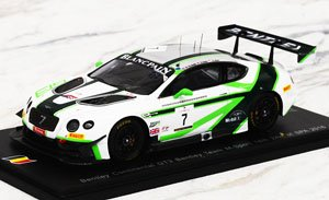 Bentley Continental GT3 No.7 18th - 24h SPA 2016 Bentley Team M-Sport (ミニカー)
