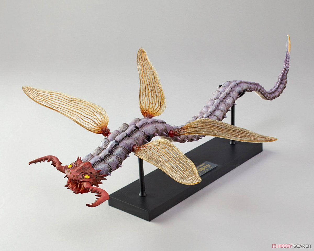 KT Project KT-012 「タケヤ式自在置物」 蛇螻蛄 (ヘビケラ) 着彩 (完成品)
