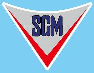 ミラーマン SGMマグネットエンブレム (完成品)