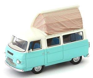 Commer Dormobile Coaster ライトブルー/ホワイト 1972 (ミニカー)