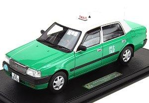 トヨタ クラウンコンフォート タクシー グリーン (NT) (ミニカー)