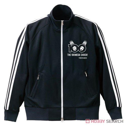 NEOGEO 100メガショック ジャージ BLACK×WHITE S (キャラクターグッズ)