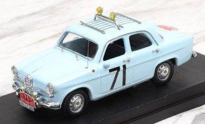 アルファロメオ ジュリエッタ 1960 モンテカルロラリー #71 Loffler/Johansson (ミニカー)