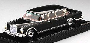メルセデス 600 プルマン 6ドア 1964 ブラック (ミニカー)