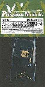 ブローニングM2/M1919機関銃銃身セット (プラモデル)