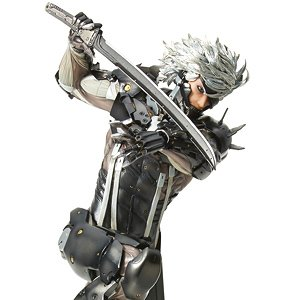 mensHdge technical statue No.33 METAL GEAR RISING REVENGEANCE 雷電 (フィギュア)