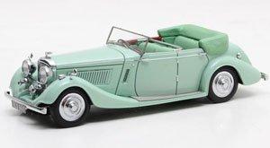 ベントレー 4.25L All-Weather Tourer by Thrupp & Maberly 1937 グリーン (ミニカー)