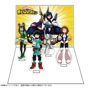僕のヒーローアカデミア ジオラマスタンド TypeA (キャラクターグッズ)