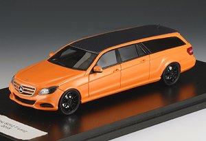 メルセデス・ベンツ ビンツ S212 エステート リムジン 2012 オレンジ (ミニカー)