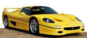 Ferrari F50 Yellow Diecast Car Hobbysearch Diecast Car Store