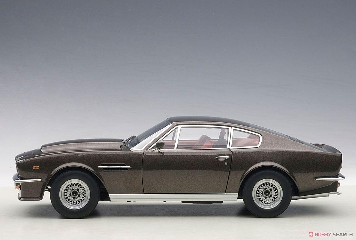 アストンマーチン V8 ヴァンテージ 1985 (グレー) (ミニカー)