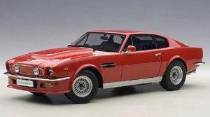 アストンマーチン V8 ヴァンテージ 1985 (レッド) (ミニカー)