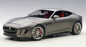 ジャガー Fタイプ R クーペ 2015 (マット・グレー) (ミニカー)