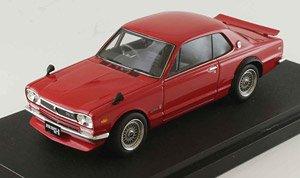 ニッサン スカイライン GT-R (KPGC10) メッシュホイール(カスタムバージョン) レッド (ミニカー)