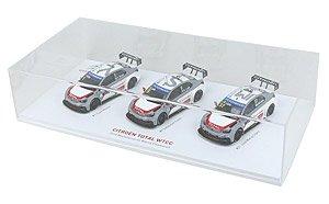 ミニカー 3台セット 2014 CITROEN Manufacturers Champion 記念 (ミニカー)