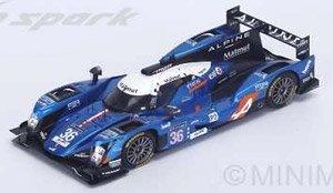 Alpine A460 - Nissan No.36 LMP2 Winner LMP2 Le Mans 2016 Signatech Alpine (ミニカー)