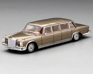 メルセデス 600 プルマン 6ドア 1964 ベルギー国王ボードゥアン1世 (ミニカー)