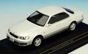 トヨタ ウィンダム 1991 ホワイト/グレイ (ミニカー)