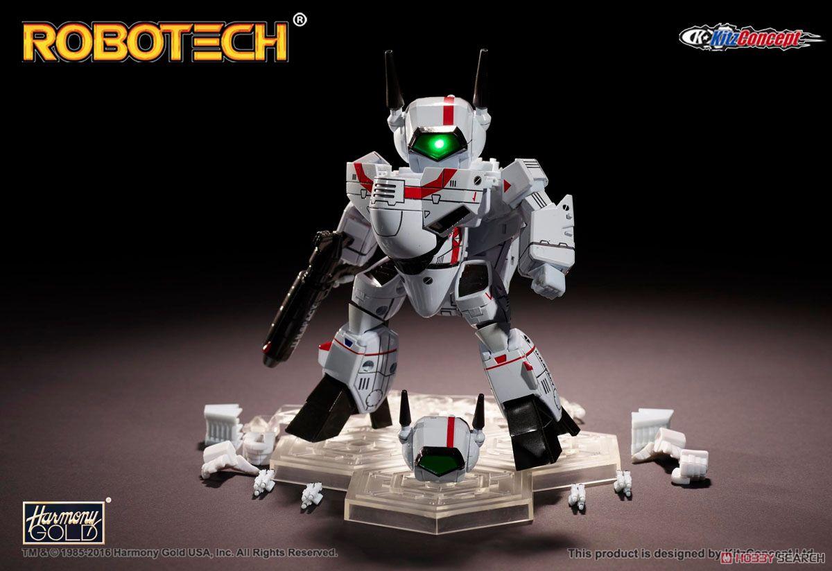 ROBOTECH SUPER-DEFORMED VF-1J リック・ハンター機 (完成品)