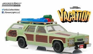 National Lampoon`s Vacation (1983) - 1979 Family Truckster `Wagon Queen` (Honky Lips Version) (ミニカー)
