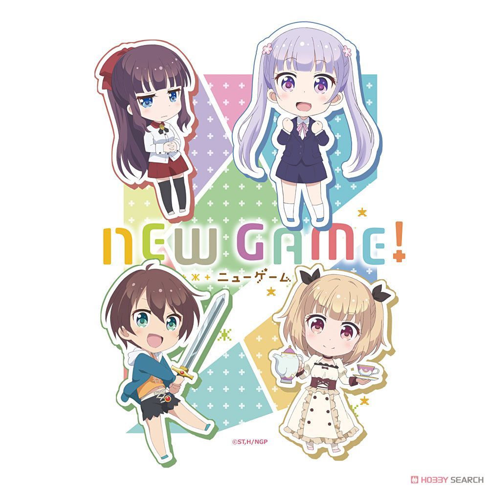 TVアニメ NEW GAME! Tシャツ (キャラクターグッズ)