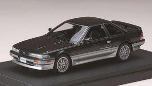 トヨタ ソアラ 2.0 GT-Twin Turbo (GZ20) 1986 スポーツホイール ダンディブラックトーニング (ミニカー)