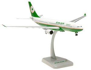 A330-200 エバー航空 ランディングギア/スタンド付属 (完成品)
