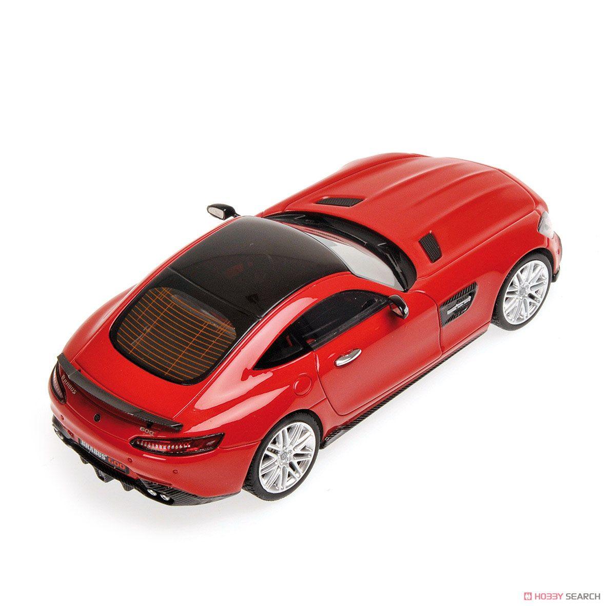 ブラバス 600 AUF BASIS メルセデス ベンツ AMG GTS 2016 レッド (ミニカー)