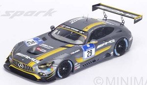 Mercedes-AMG GT3 No.29 2nd 24h Nurburgring 2016 AMG-Team HTP-Motorsport (ミニカー)