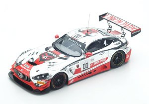Mercedes-AMG GT3 No.0 20th 24h SPA 2016 AMG - Team Black Falcon (ミニカー)