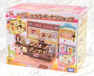Pretend Play Toy Mister Donut Shop Licca Chan Takara Tomy Japan