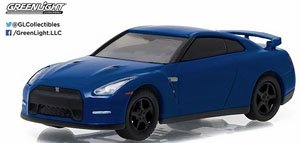 2014 Nissan GT-R (R35) - Blue Solid Pack - Muscle Series 17 (ミニカー)