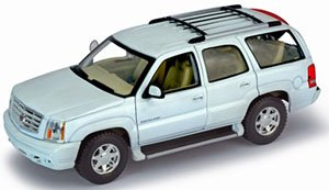 2002 CADILLAC ESCALDE (ホワイト) (ミニカー)
