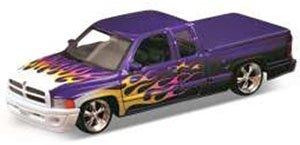 ダッジラム クワッド キャブ 1500 スポーツ LOW RIDER (パープル) (ミニカー)