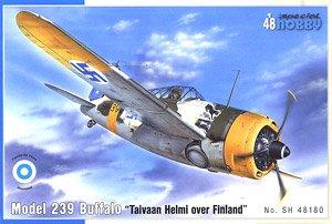 バッファロー B-239 「フィンランド空軍」 (プラモデル)