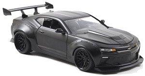BTM 2016 シボレーカマロ ワイドボディー ブラック/ブラックストライプ (ミニカー)