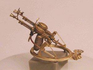 露・ツポレフTB-1/ズベノ1A爆撃機用機銃セット AM72290用 (プラモデル)