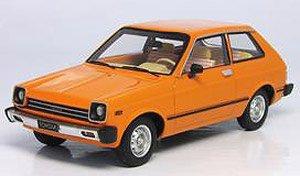 トヨタ スターレット 前期型 欧州仕様車 KP60 オレンジ (ミニカー)