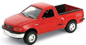 1998 フォード F-150 レギュラーキャブ FLARESIDE ピックアップ (レッド) (ミニカー)
