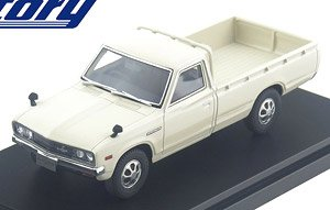 NISSAN DATSUN TRUCK Long Body DX (1979) ホワイト (ミニカー)