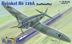 独・ハインケル He119A 高速偵察機・ドイツ空軍 (プラモデル)