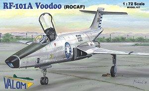 米・マクドネル RF-101A ヴードゥー戦術偵察機・台湾空軍 (プラモデル)