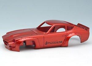 PANDEM 240Z キャンディレッド/RSワタナベ (グロスブラック) (ミニカー)