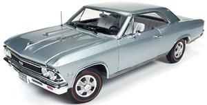 1966 Chevrolet Chevelle SS (シャトースレートシルバー) (ミニカー)