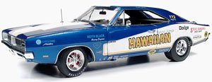 1969 Dodge Charger Hawaiian Funny Car (ブルーメタリック) (ミニカー)