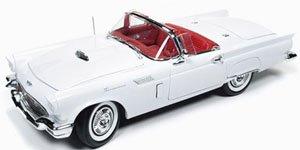 1957 フォード サンダーバード クリスマスver #3 (ホワイト/レッド) (ミニカー)