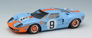 `Gulf Racing J.W.Automotive` LM 24h 1968 Winner No.9 (ミニカー)