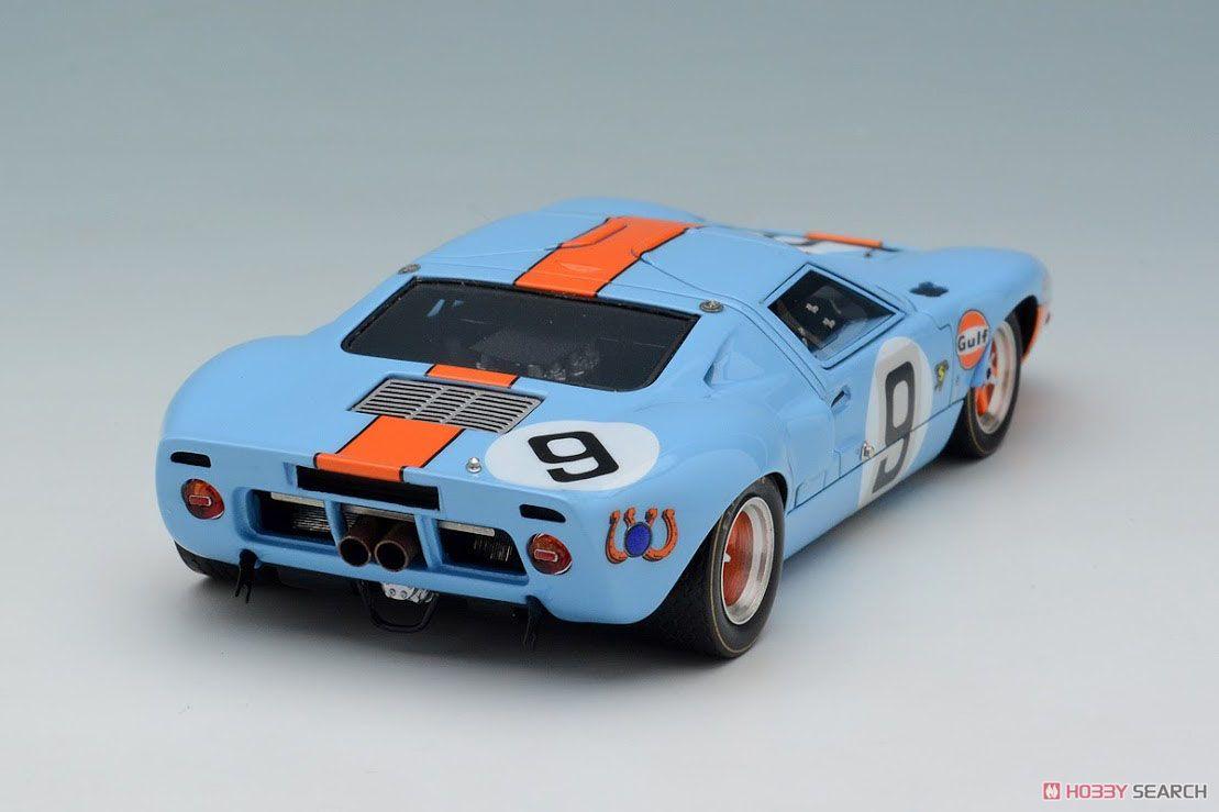 `Gulf Racing J.W.Automotive` LM 24h 1968 Winner No.9 (ミニカー)